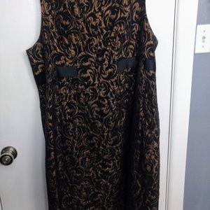 Jessica Howard Woman Jacquard dress